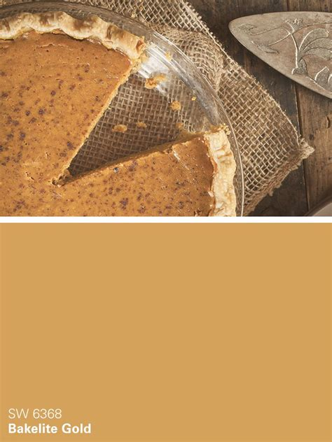 sherwin williams paint color bakelite gold sw 6368