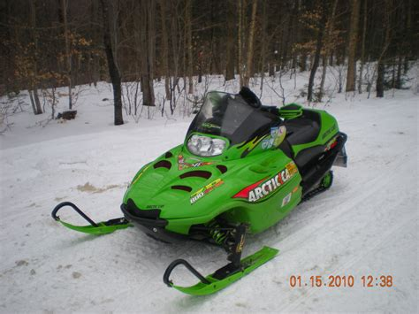 Arctic Cat Zr 800 Tristan Devlin Snow Fun Sled Skiing