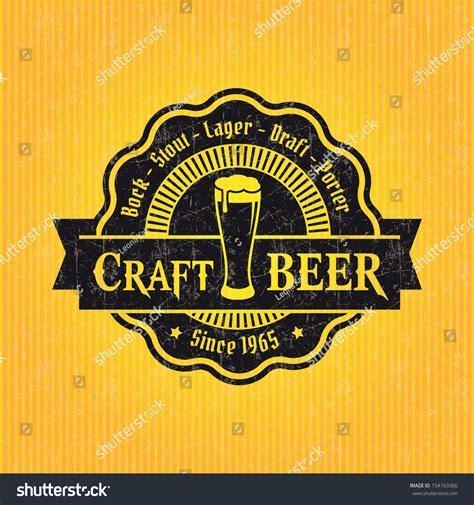 design beer label illustrator beer label design template stock vector illustration