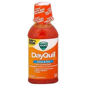 Kitchen Bath And Beyond by Vicks Dayquil 12 Oz Liquid Bed Bath Amp Beyond