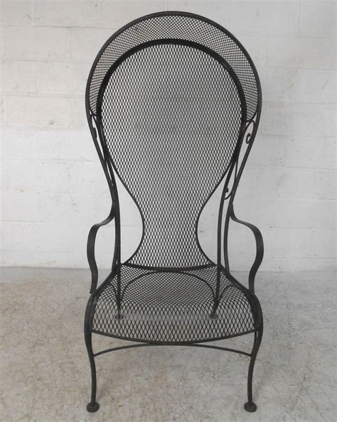 unique patio chairs unique woodard style patio chair for sale at 1stdibs