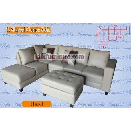 Sofa Minimalis Leter L sofa minimalis leter l hazel sale promo