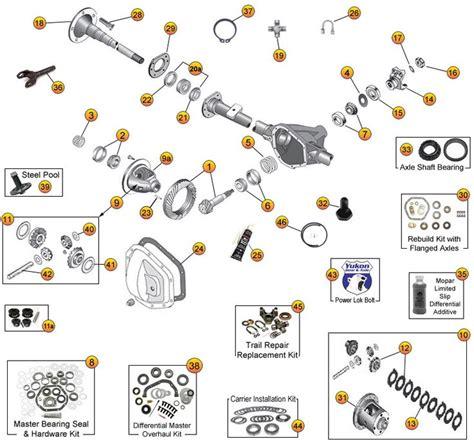 cj7 jeep parts catalogs jeep cj7 cj8 scrambler model 44 jeep rear axle