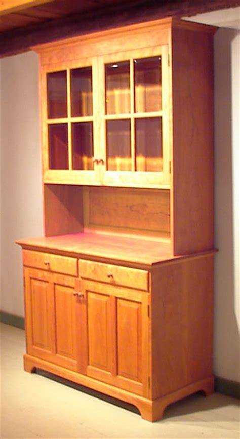 Hutch With Glass Doors China Hutch With Beveled Glass Doors Custom Furniture Shaker Furniture Bissellwoodworking