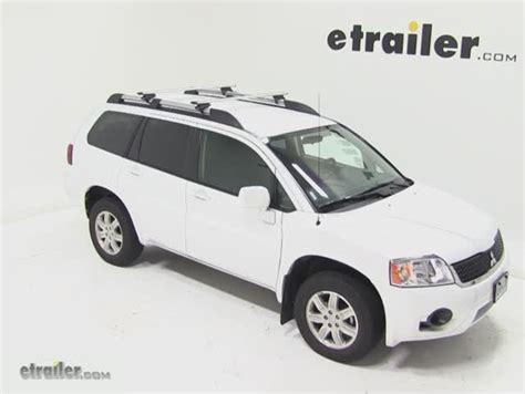 Mitsubishi Outlander Roof Rack by Thule Roof Rack For 2003 Mitsubishi Outlander Etrailer