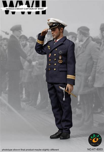 u boat figures u boat captain wwii german toys 1 6 scale figure