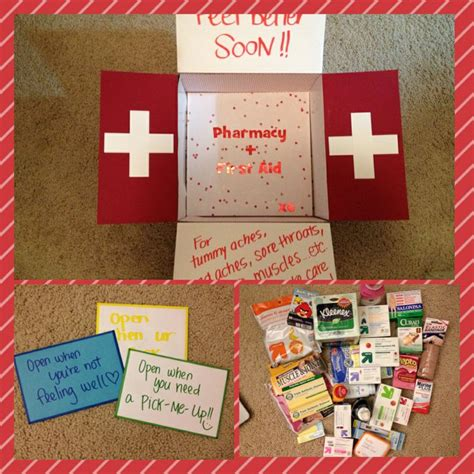 teds first aid pharmacy get better soon care package for