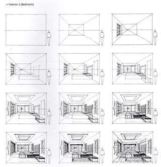 how to draw a bedroom step by step sketching how to draw and to draw on pinterest