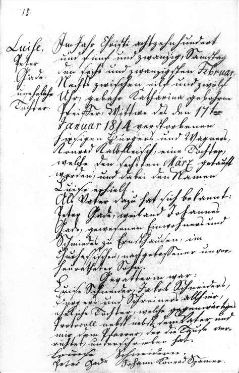 Darmstadt Hessen Germany Birth Records The Birth And Baptism Of Louise Gade 1825 Steve S Genealogy