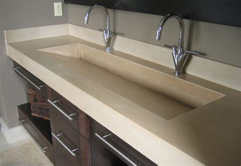 bathroom trough sink double trough sink bathroom pinterest