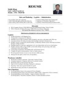 Sle Resume Of Manager Administration Resume Sle Assistant Resume In Nc Sales Lewesmr Miccer