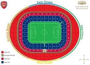 stadium plan emirates stadium seating plan the club news arsenal com