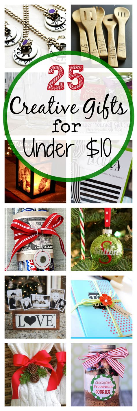25 creative gift ideas that cost 10 projects