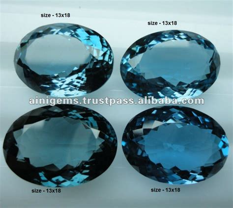 blue guide london blue london blue topaz gemstones semi precious stones buy london blue topaz gems topaz product on