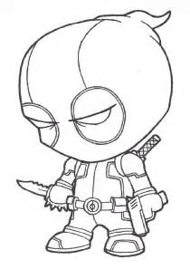 deadpool free coloring pages on art coloring pages