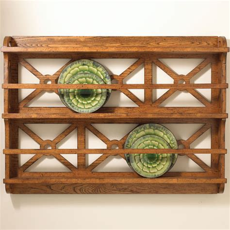 Wall Plate Display Rack by Rustic Plate Rack Traditional Plate Stands And Hangers