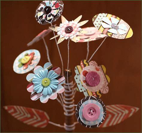 How To Make A Paper Flower Bouquet - diy paper flower bouquet