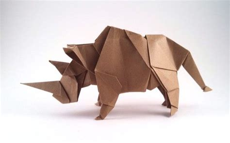 How To Make Origami Rhino - 1000 images about origami paper books on