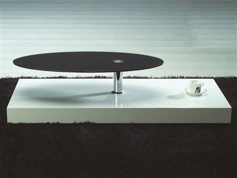 unique coffee tables contemporary white and black coffee table with unique oval