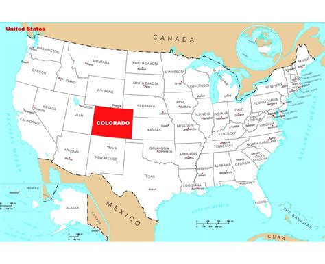 state map of colorado maps update 800542 tourist map of colorado places to