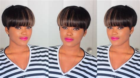 shrt hair styles bowl cut with sew jns short mushroom hairstyles hairstyle for women man