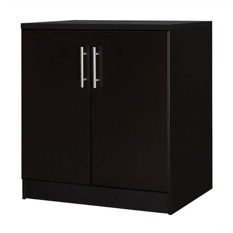 hton bay 36 in h 2 door base cabinet in espresso