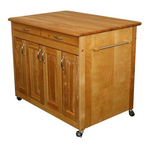 Catskill Craftsmen Kitchen Cart by Catskill Craftsmen Kitchen Cart With Butcher Block