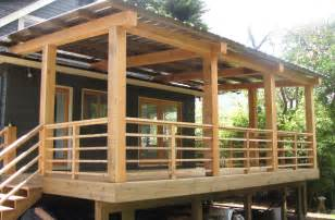 Outdoor Deck Spindles Horizontal Wood Deck Railing Ideas See 100s Of Deck