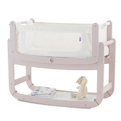 3 In 1 Slabber Mothercare Newborn snuzpod 2 3 in 1 bedside crib mattress in blush cuckooland