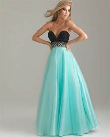 pink turquoise tulle sweetheart cheap prom dresseslong