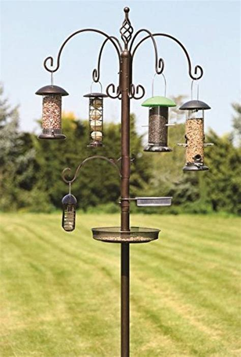 evesham superior wild bird feeding station by garden