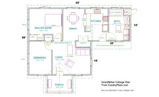 home interior plan grandfather cottage home plans kit