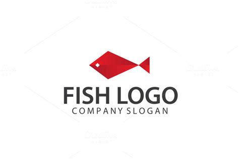 exclusive fish logo template logo templates on creative