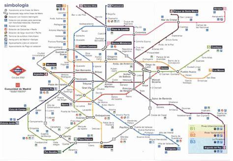 madrid metro map madrid metro map images