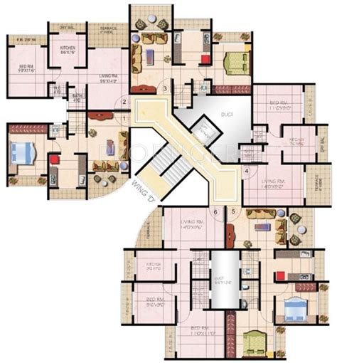 415 sq ft 415 sq ft 1 bhk 1t apartment for sale in mohan group