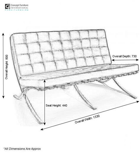 barcelona bench dimensions barcelona bench dimensions concept furniture hire