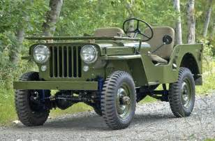 1947 willys jeep american cars from the 30s and 40s