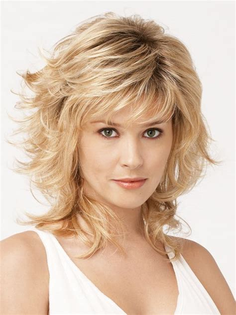 want a med lenght haircut with feathering toward face thin hair tress synthetic wig basic cap hair style hair cuts