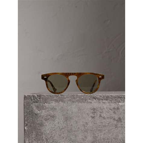 gestell vintage sonnenbrille the keyhole mit rundem gestell vintage