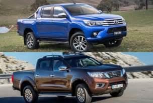 Toyota Nissan Toyota Hilux Vs Nissan Navara Truck 2017 2018