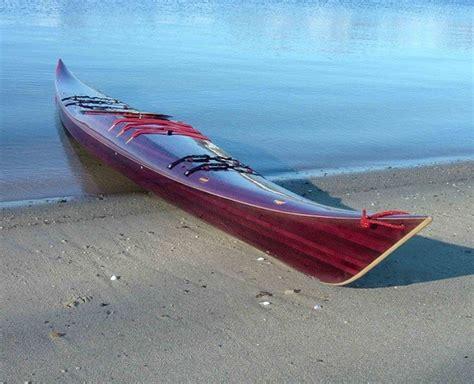 Handmade Kayak - nick schade s handmade wooden kayaks are works of seeker