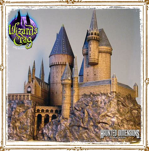 Hogwarts Papercraft - hogwarts paper model kit by keim