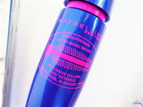 Mascara Maybelline Biru Maybelline The Rocket Volum Express Mascara Silver