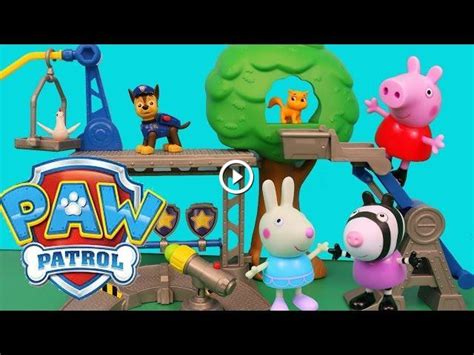 Rescue Peppa Pig paw patrol peppa pig rescue center new paw patrol toys episode disneycartoys