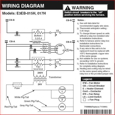 electric furnace wiring diagram wiring diagram with