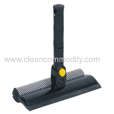 City Color Brush Cleaning Sponge T 0001 pivoting window squeegee with sponge window brush