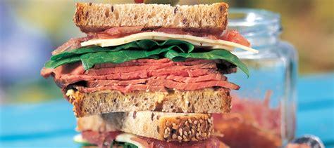 Roast Beef Shelf by Roast Beef Sandwich With Confit And Havarti Recipe
