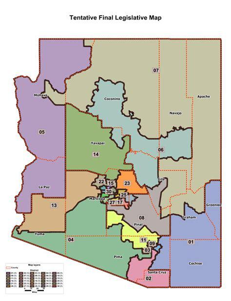 arizona congressional districts map us house redistricting arizona