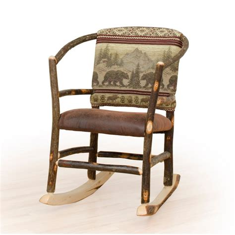 Rustic Rocking Chair by 500 Server Error