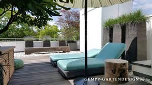 terrassen planen dachterrassen terrassengestaltungen gempp gartendesign